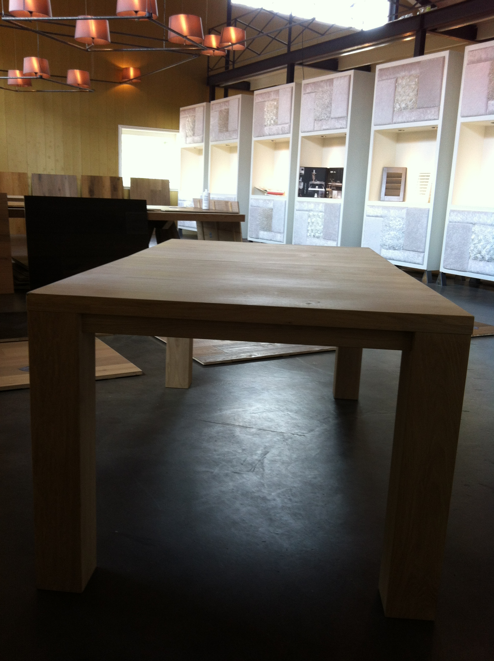 Betonnen salontafel zelf maken steigerhouten kast unieke kast gemaakt van gebruikt steigerhout - Uitschuifbare kast ...