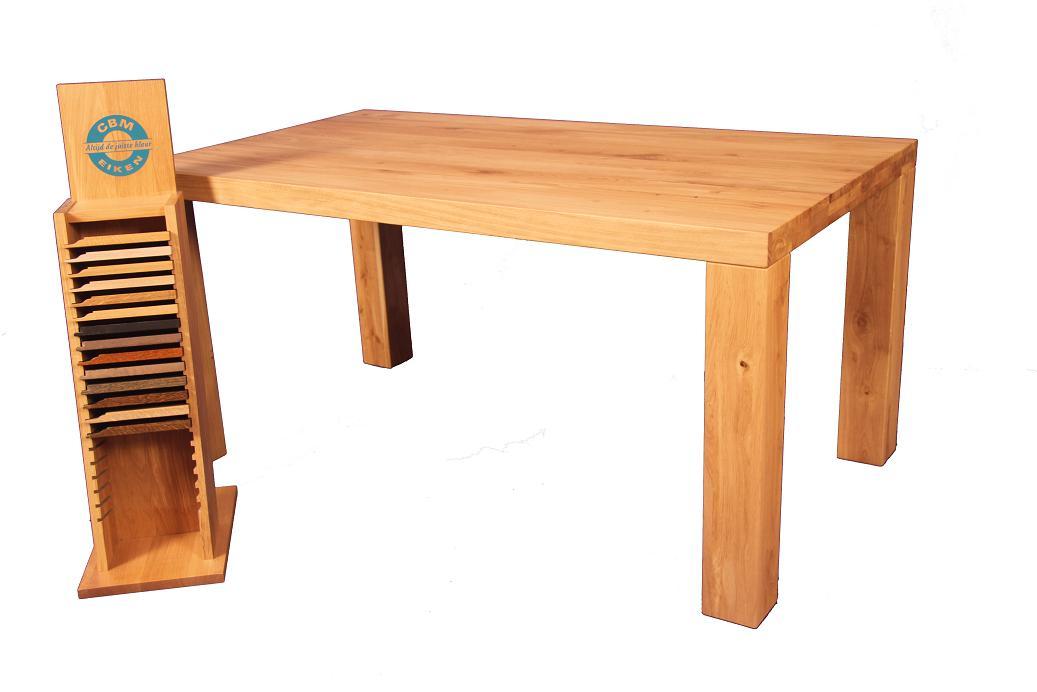 eiken tafel, tafel eiken, eikenhouten tafel, tafel op maat, meubelmaker Heerhugowaard, meubelmaker Alkmaar, meubelmaker Noord-Holland, ZienXL