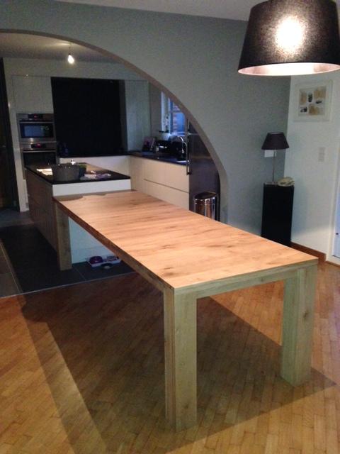 Smalle keuken eettafel - Eiland keukentafel ...