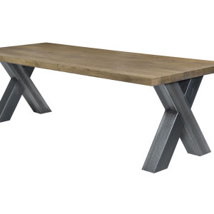 NIX Design eettafel Cross wit