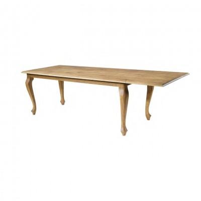 verlengbare eiken tafel