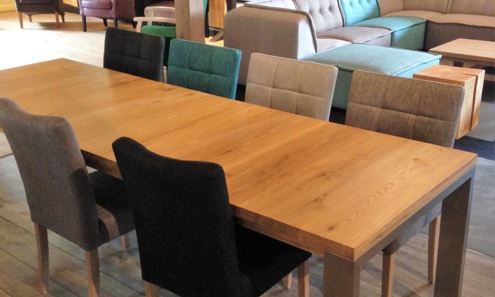 uitschuifbare tafel STRETCH RVS