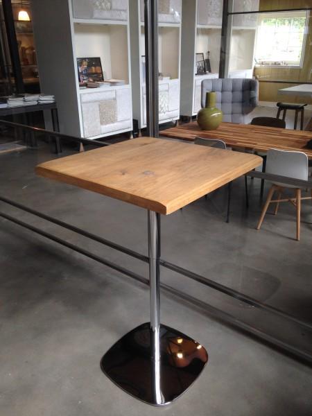 in hoogte verstelbare eiken tafel LAUNCH