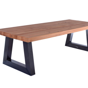 industriële tafel trapezium