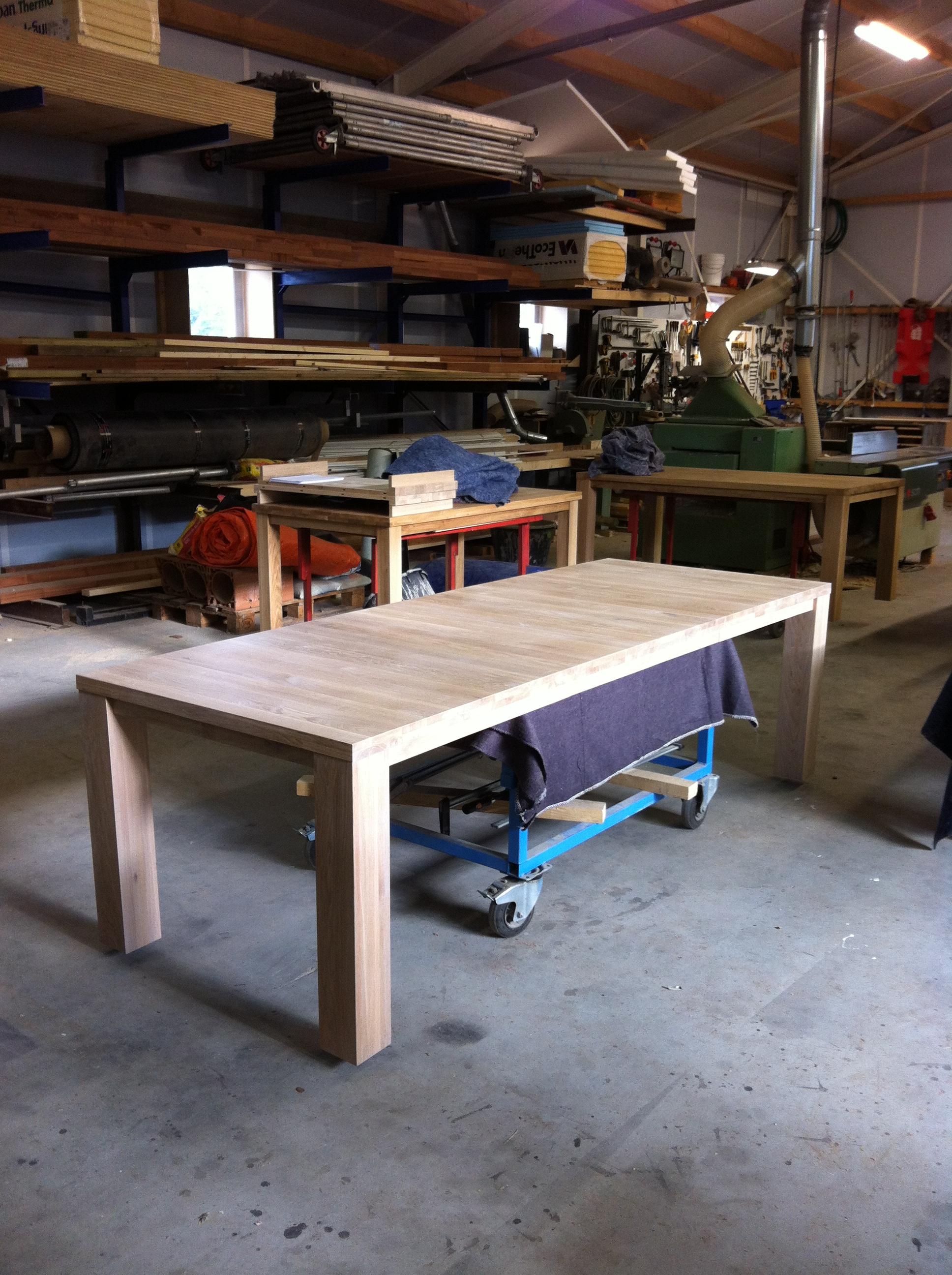 Eigen ontwerp tafel laten maken archives de eiken tafel nl for Tafel laten maken