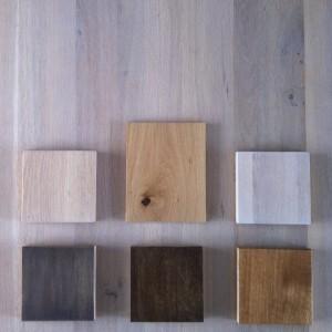 kleurmogelijkheden eiken tafel, kleuren eiken tafel, kleuren olie, kleuren lak, kleurenpalet, eiken tafels afgewerkt in kleur, diverse kleuren eiken, eiken in verschillende kleurstellingen
