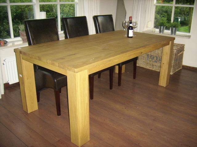 Goede Verlengbare tafel 'LIMO' - DE-EIKEN-TAFEL.NL AN-65