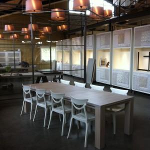 uitschuif tafel STRETCH in lak extra wit, review uitschuifbare eiken tafel STRETCH, eiken tafel afwerking extra wit gelakt