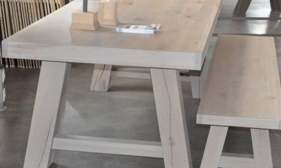 Wit Eiken Tafel : Home de eiken tafel