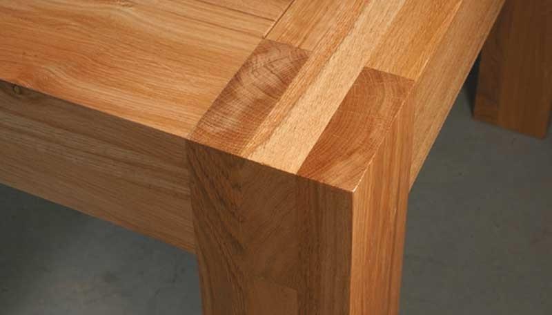 Licht Eiken Eettafel : Model titan de eiken tafel
