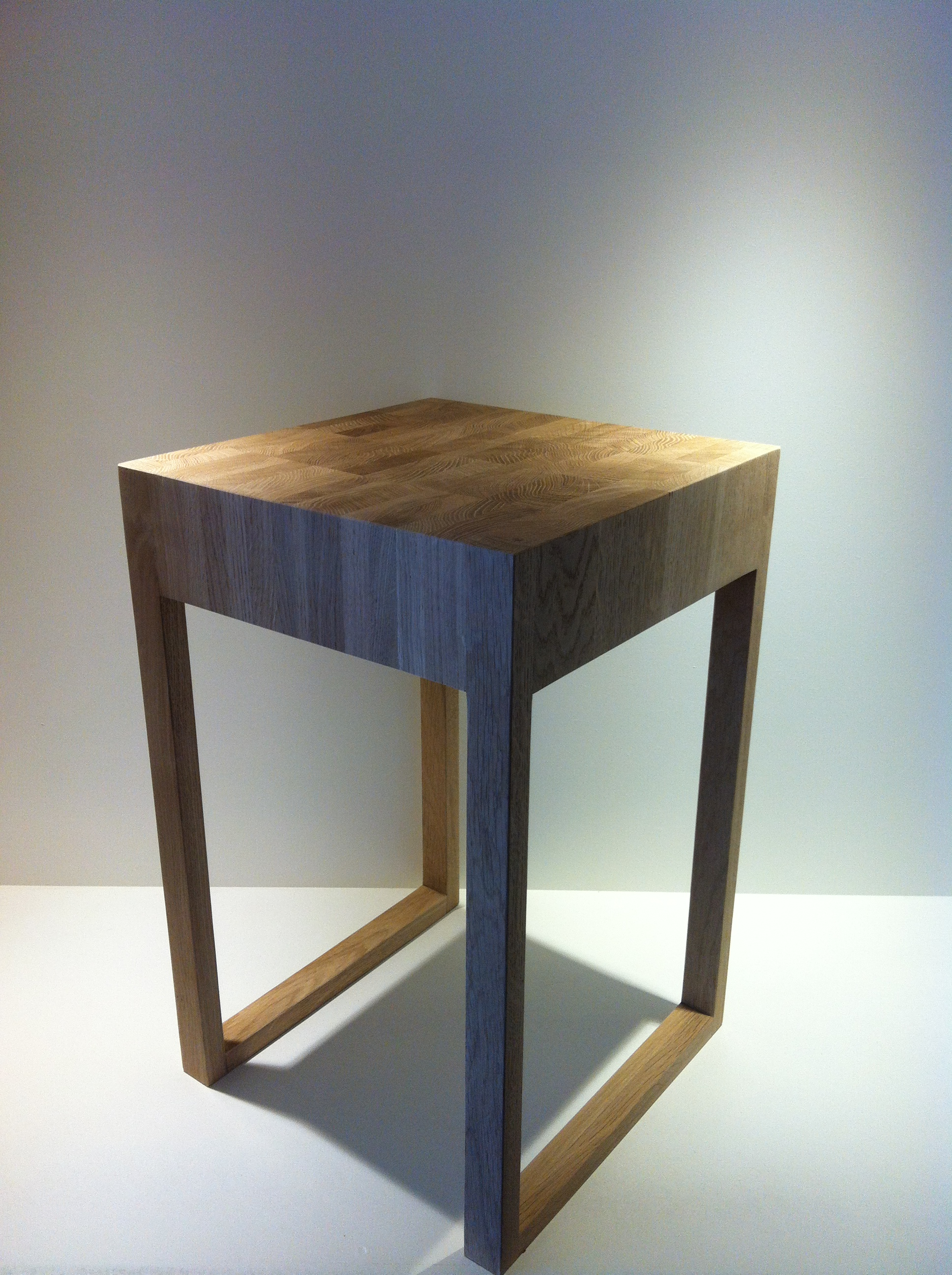 Blank Eiken Nachtkastjes.Bijzettafel Model Oak De Eiken Tafel Nl