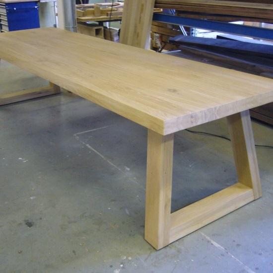 Eiken tafel model MASTER