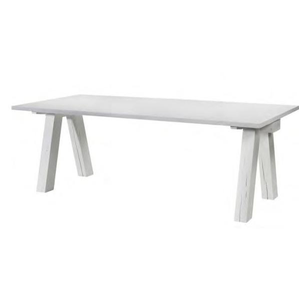 landelijke tafels wit