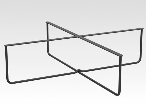los stalen salontafel onderstel model SAAS