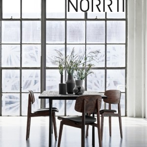 NORR11 Charcoal Dining Table