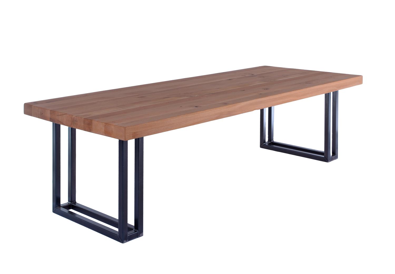 Industriele Tafel Goedkoop : Industriële tafel apollo de eiken tafel.nl