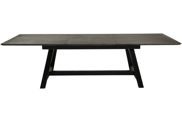 DUMAS TABLE grey stained oak w. black stained legs_400900600_front extended (1)